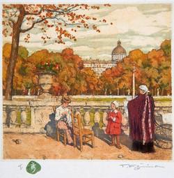 Jardin du Luxembourg 1916