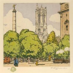 Place_du_Châtelet_et_Tour_Saint-Jacques_1916