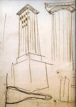 Chicago Tribune Competiti sketch