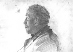 Pencil Study for Karl