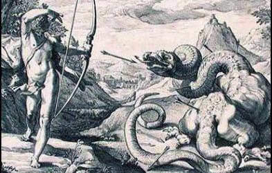 Apollon contre Python