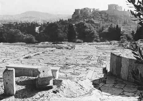 Acropolis pavement