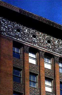 Wainwright Bldg, cornice frieze