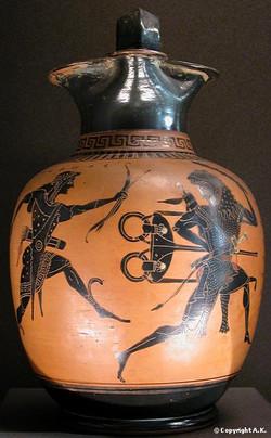 Apollon et Héraclès