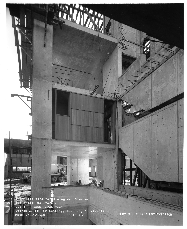 Salk Institute chantier