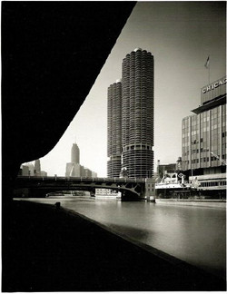 Marina City, Chicago, view