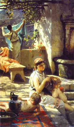By a Pool 1895