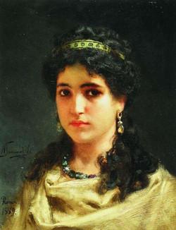 Portrait d'une romaine (2)