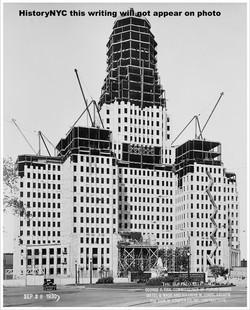 BUFFALO NY CITY HALL CONSTRUCTION 1930