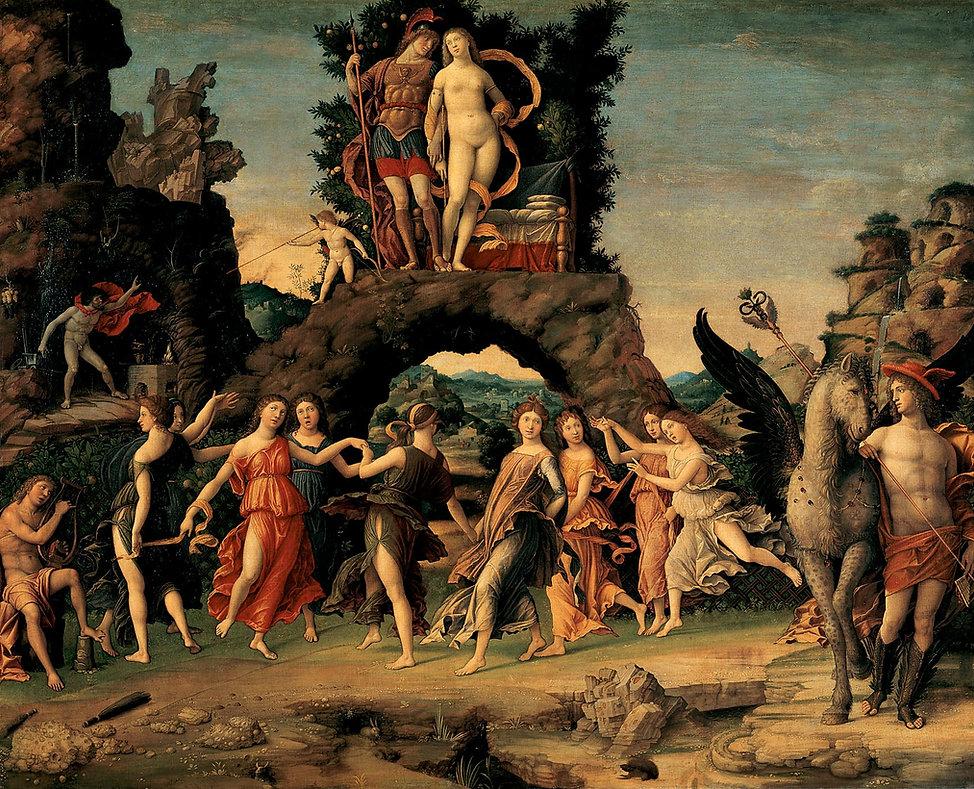 Apollon Dans La Peinture Classique Delphes