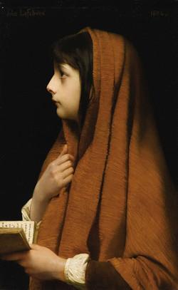 Jules-Joseph_Lefebvre_(1836-1911),_Girl_with_book