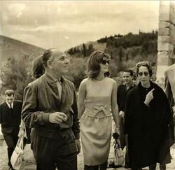 1963 Delphes, Jacky Kennedy et Ioanna Konstantinou 3
