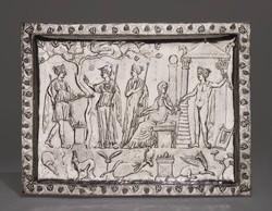 The Corbridge Lanx. 4th century. Decorated silver platter or lanx..jpg
