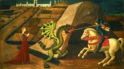 Ucello St-Georges & le dragon