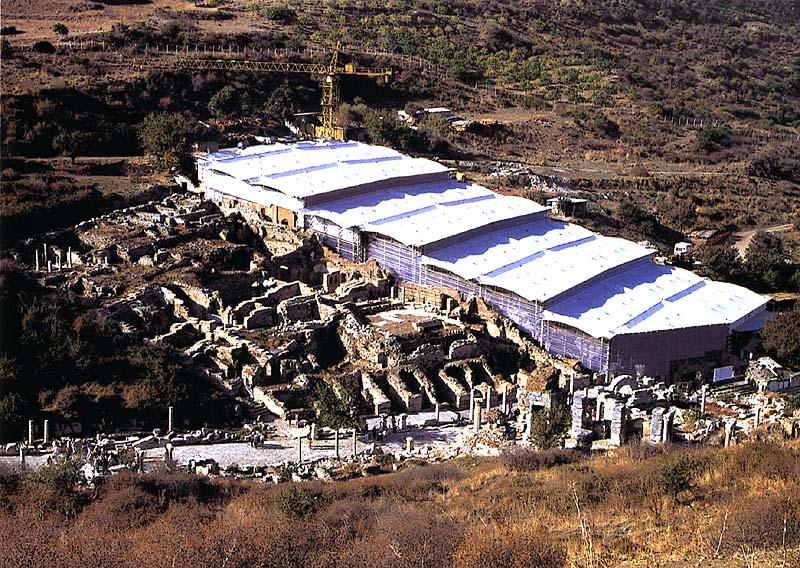 Ephesus Roof Protection, exterior