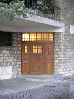 Entrance, detail