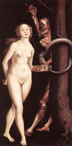 1510ca Eve The Serpent and Death