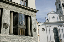 bow window & church