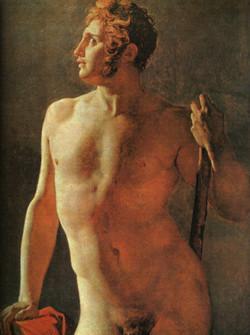 1800 Torse masculin
