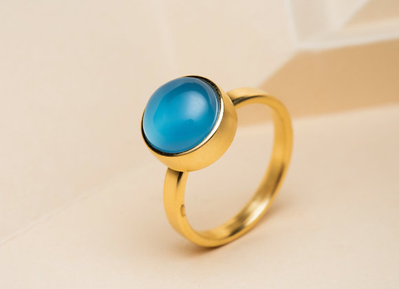 The Blue Agate Ring