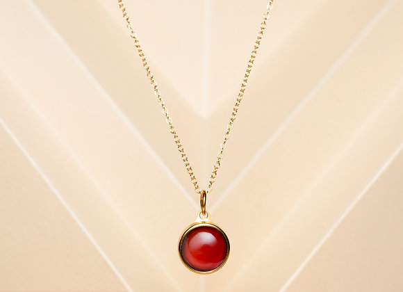 The Red Agate Necklace