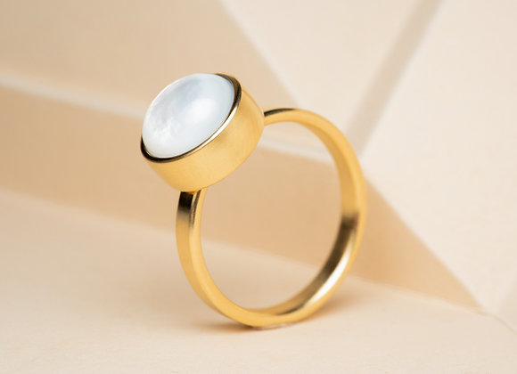 The Mother of Pearl Ring