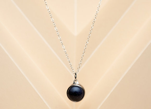 The Blue Goldstone Necklace