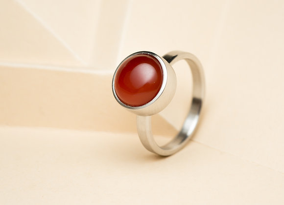 The Red Agate Ring