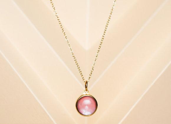 The Strawberry Quartz Necklace