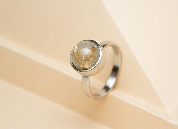 The Golden Rutilated Quartz Ring