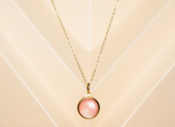 The Rose Quartz Necklace