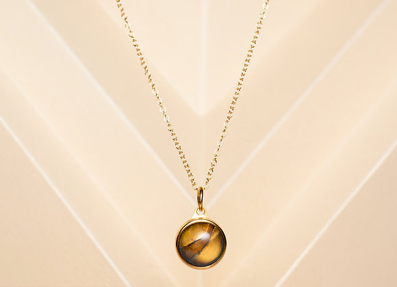 The Tiger's Eye Necklace