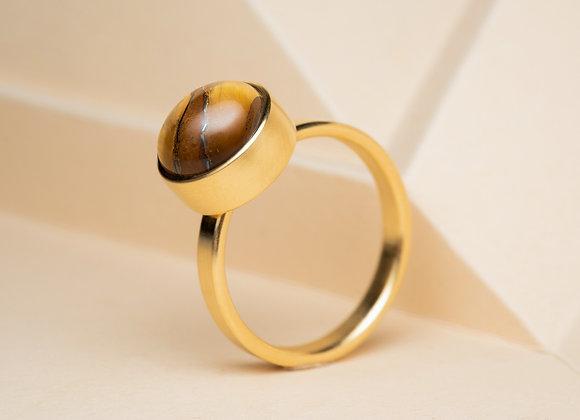 The Tiger's Eye Ring