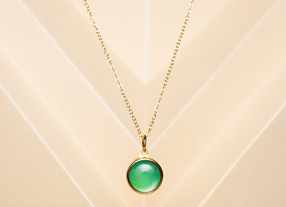 The Green Agate Necklace