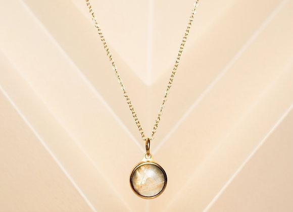 The Golden Quartz Necklace