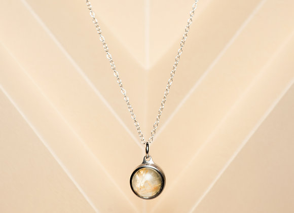 The Golden Rutilated Necklace
