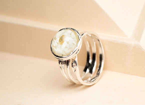 The Sterling Silver Dumas ring