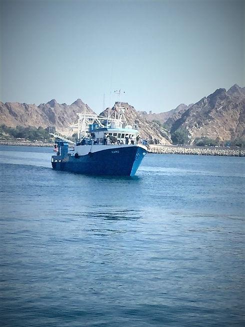 BLUE BAY Vessel