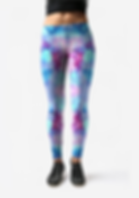 fashion accessories - leggings - parrot