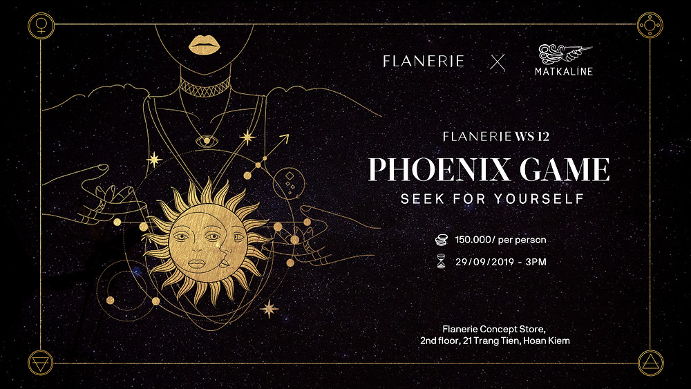 Flanerie workshop phoenix game tarot