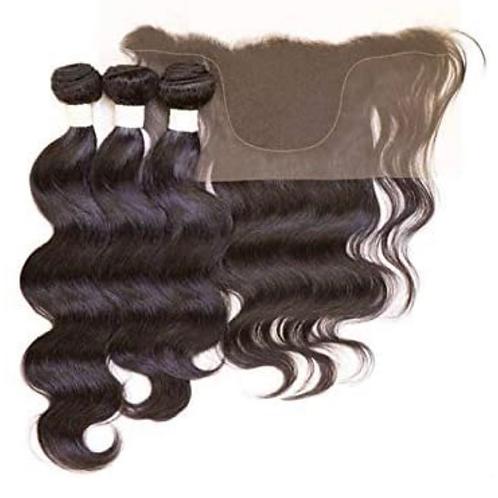 Janet Collection Customized 13x4 Lace Closure and 3 Pcs Body Bundle Hair EZ DIY