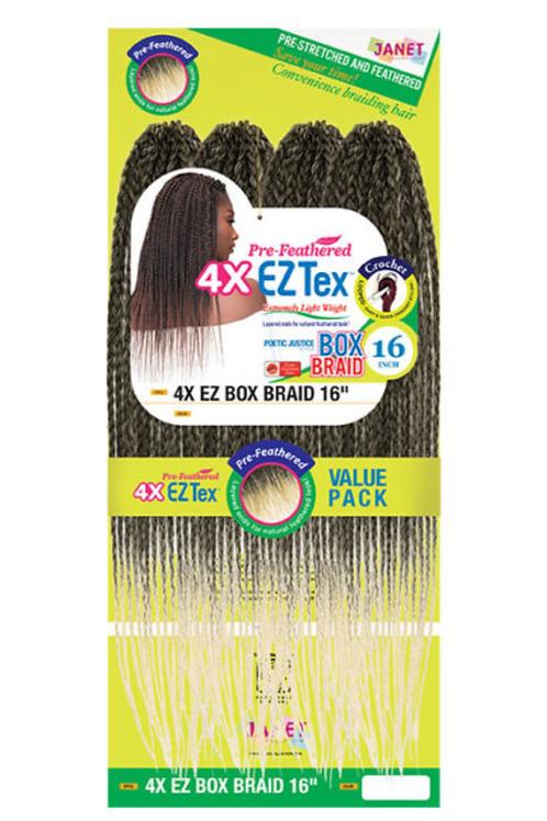 4X EZ Box Braid