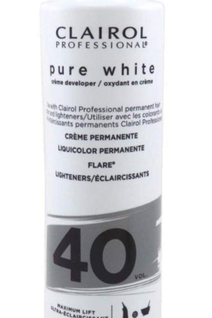 Clairol Professional Pure White Creme Developer 40 VOL.