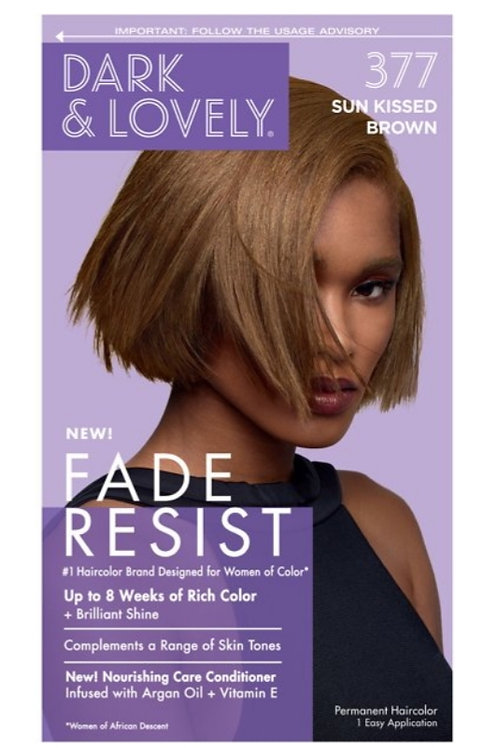 Dark &' Lovely Fade Resist 377 Sun Kissed Brown