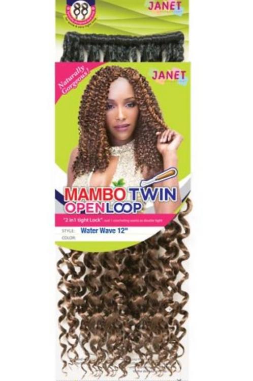 Deep Twist Braid 12in.(Twin Loop)