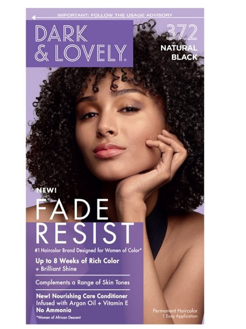 Dark &' Lovely Fade Resist 372 Natural Black