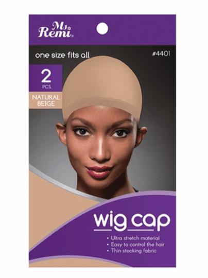 2 Pack Wig Cap (Beige)