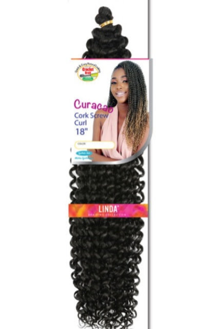 Supreme Hair Cork Screw Curl 18""