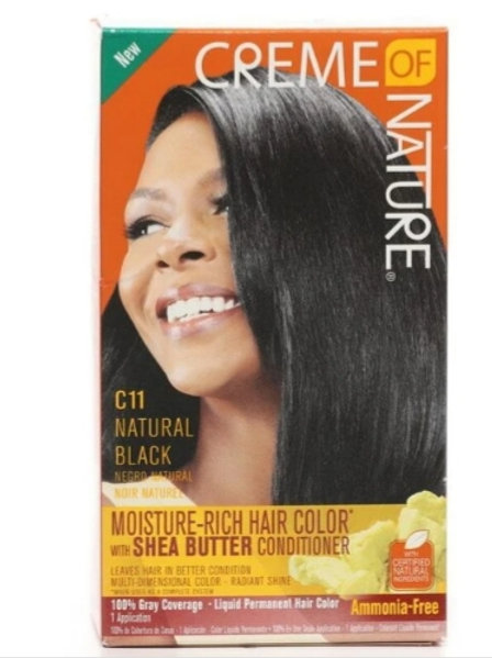 Creme of Nature Moisture-Rich Hair Color C11 Natural Black