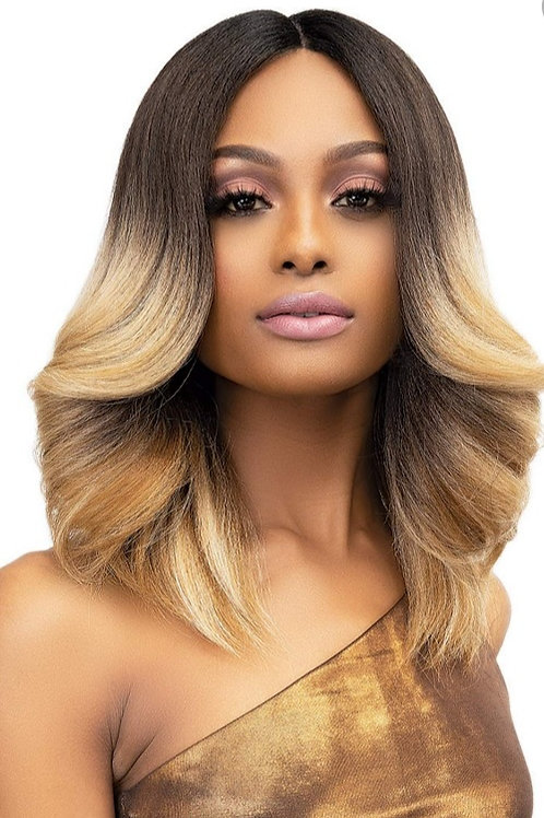 Natural Me Lace Lite Tiana Wig Color: DR1B/Aubrnblnd